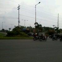 Photo taken at Gerbang Tol Manyar by Dessy G. on 12/15/2012