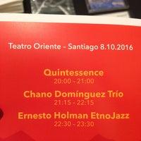 Photo taken at Teatro Oriente by Rocio C. on 10/9/2016