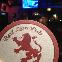 Photo taken at Red Lion Pub by Andrew T. on 2/7/2013
