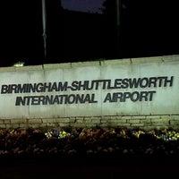 Photo taken at Birmingham-Shuttlesworth International Airport (BHM) by Mark P. on 12/11/2012