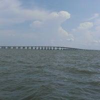 Photo taken at I-10 Twin Span Bridge by Sulley W. on 6/16/2013