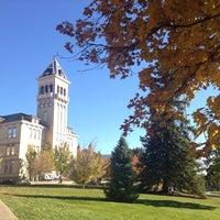 Photo taken at Utah State University by Veronika M. on 10/24/2013