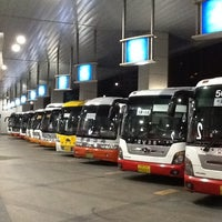 Photo taken at Central City Bus Terminal by Jin Su K. on 10/25/2012