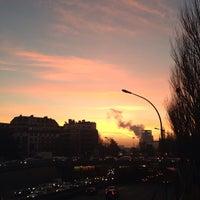 Photo taken at Arrêt Porte de Saint-Cloud [PC1,22,62,72,175,N12,N61] by Antonio B. on 12/12/2013