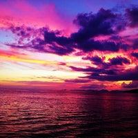 Photo taken at Ao Nang Beach by Bartosz W. on 11/23/2012
