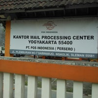 Photo taken at Kantor Pos Plemburan by Ayah R. on 2/8/2014