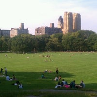 Photo taken at Sheep Meadow - Central Park by Gabrielle C. on 9/14/2012