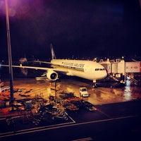Photo taken at Shanghai Pudong International Airport (PVG) by dixson l. on 6/9/2013