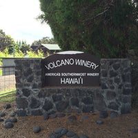 Photo taken at Volcano Winery by Mathew . on 5/17/2016