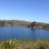 Photo taken at Lake Miramar Reservoir by Justin L. on 4/21/2013