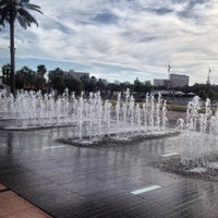 Photo taken at Curtis Hixon Waterfront Park by Sara J. on 3/11/2013