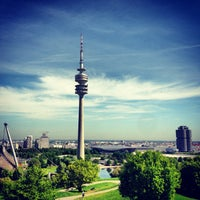 Photo taken at Olympiapark by Olga S. on 5/15/2013