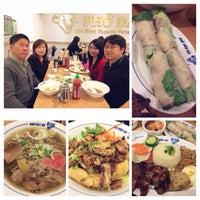Photo taken at Pho Dau Bo Restaurant by Yoshiko S. on 4/24/2014