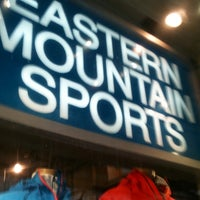 Photo taken at Eastern Mountain Sports by Paul B. on 3/18/2013
