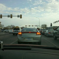 Photo taken at 41st St. & Louise Ave. by Jason B. on 10/11/2012