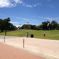 Photo taken at Elder Park by Matthew H. on 12/24/2012