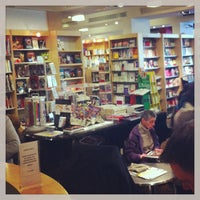 Photo taken at Filigranes by Elodie P. on 1/27/2013