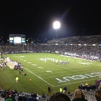 Photo taken at Rentschler Field by Christie S. on 11/10/2012