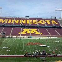 Photo taken at TCF Bank Stadium by David M. on 7/13/2013