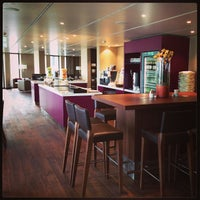 Photo taken at Executive Lounge   Marriott Hotel Berlin by sv H. on 5/7/2013