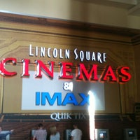 Photo taken at Lincoln Square Cinemas by Shiva K. on 5/14/2013