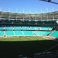 Photo taken at Itaipava Arena Fonte Nova by Dea D. on 6/4/2014