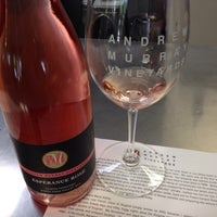 Photo taken at Andrew Murray Vineyards Tasting Room by Bill E. on 7/13/2014