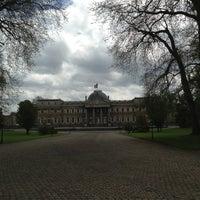Photo taken at Koninklijk Paleis / Palais Royal by Robin d. on 5/9/2013