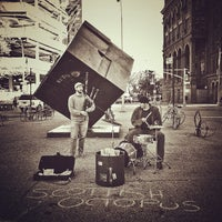 Photo taken at Astor Place by Manny H. on 10/13/2012