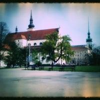 Photo taken at Moravské náměstí by Helen on 7/2/2011