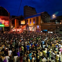Photo taken at Ciudad Cultural Konex by Green Toad Bus on 8/28/2011