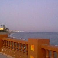 Photo taken at Playa Santa Ana by Yuni T. on 8/22/2011