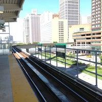 Photo taken at DPM - Renaissance Center Station by Nakkyo J. on 5/25/2013