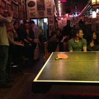 Photo taken at Sister Louisa's Church of the Living Room and Ping Pong Emporium by Patrick W. on 3/9/2013