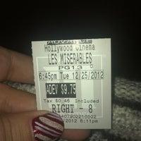 Photo taken at Marcus Hollywood Cinema by Amanda F. on 12/26/2012