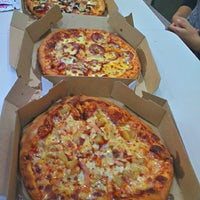 Photo taken at Domino's Pizza by Barey I. on 1/18/2013