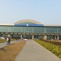 Photo taken at Lal Bahadur Shastri International Airport, Varanasi (VNS) by Opp O. on 1/4/2013
