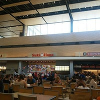 Photo taken at Christiana Mall Food Court by MSCowboy on 8/28/2015