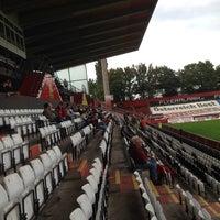 Photo taken at BSFZ Arena - Südstadt Stadion - Trenkwalder Arena by Graham B. on 8/30/2014