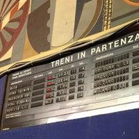 Photo taken at Verona Porta Nuova Railway Station by Jeromy-Yu C. on 4/7/2013