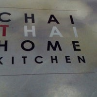 Photo taken at Chai Thai Kitchen by Ken P. on 3/19/2013