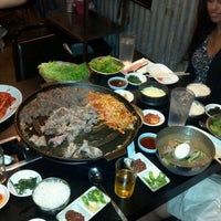 Photo taken at Honey Pig Gooldaegee Korean Grill by Lou G. on 9/15/2012