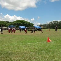 Photo taken at 16 Acres (Makaunulau Park) by Leonard K. on 7/14/2013