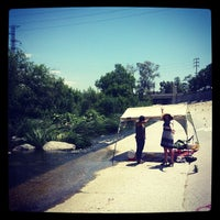 Photo taken at Los Angeles River - Glendale Narrows by Eric B. on 5/12/2013