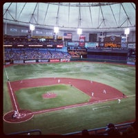 Photo taken at Tropicana Field by Blake R. on 6/8/2013