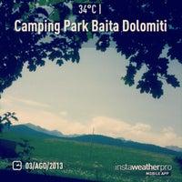 Photo taken at Camping Park Baita Dolomiti by Luca F. on 8/3/2013