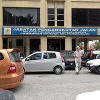 Photo taken at Jabatan Pengangkutan Jalan (JPJ) by Animz R. on 12/11/2012