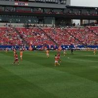 Photo taken at Toyota Stadium by Jeff W. on 3/17/2013