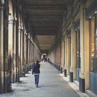Photo taken at Palais Royal by marianne h. on 7/19/2013
