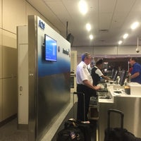Photo taken at Gate A29 by Brian C. on 8/27/2016